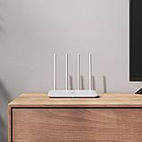Wi-Fi роутер Xiaomi Mi WiFi Router 4 White, фото 5
