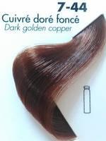 Тонуюча гель-фарба для волосся Ducastel Subtil Couleur Tone HD 7-44 - блондин мідний насичений, 125 мл
