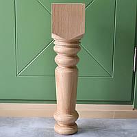 Большая точеная ножка опора для стола