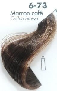 Тонирующая крем-краска для волос Ducastel Subtil Couleur Tone HD 6-73 - каштан кофейный, 60 мл