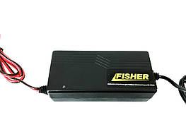 Зарядное для гелевых аккумуляторов 12V/10A - Fisher РSCC1210