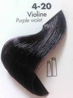 Тонирующая крем-краска для волос Ducastel Subtil Couleur Tone HD 4-20 - интенсивно - фиолетовый, 60 мл