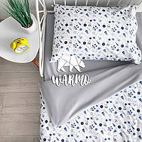 """Комплект дитячої постільної білизни Warmo™ """"НЛО"""" 1,5-спальний"""