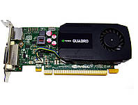Видеокарта NVIDIA Quadro K600 1Gb PCI-Ex DDR3 128bit (DVI + DP) низкопрофильная