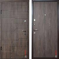 Дверь входная металлическая ZIMEN Galleon l Дуб Шале корица  l Optima