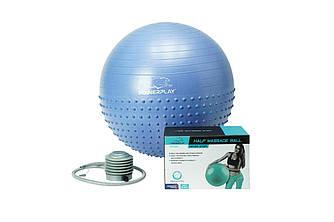 Мяч для фитнеса и гимнастики PowerPlay 4003 65см lilac