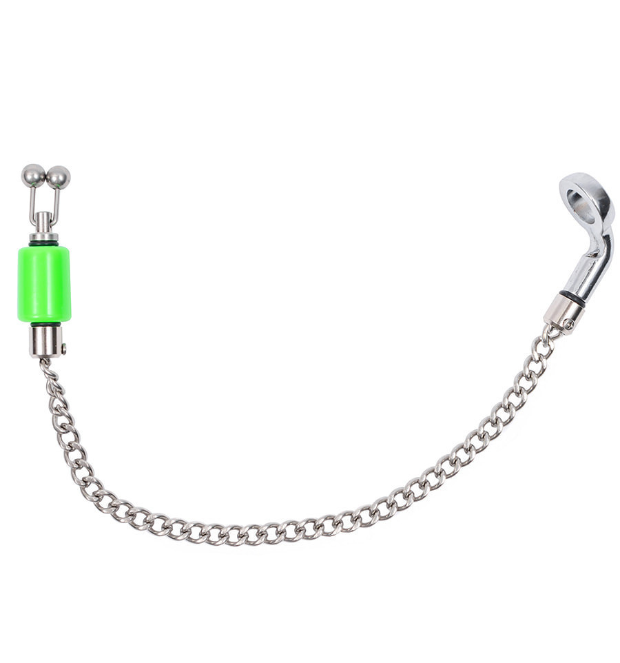 Индикатор поклевки World4Carp Mini Hanger Kit steel chain зелёный (green)