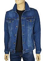 Мужской джинсовый пиджак Cordial K:175-1010 C-250 синего цвета