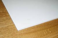 Белая потолочная кассета из оцинкованного металла 0,4 мм Плоская, фото 1