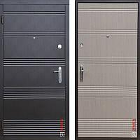Дверь входная металлическая ZIMEN Vanessa  l Венге темный / Венге светлый  l Base