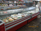 """Витрина холодильная """"Арктика-1.8""""(-2..+5) гнутое стекло Айстермо, фото 2"""