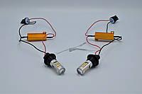 DRL&Turn Light 2835-42SMD LED лампы в повороты с ДХО / T20-7440 / к-кт 2шт, фото 1