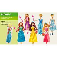 Кукла Принцессы 6 видов, с аксессуарами, BLD046-67