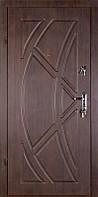 Дверь входная металлическая ZIMEN Viking l Темный орех  l Base