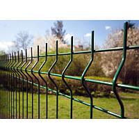Заборные секции из сварной сетки с изгибом Заграда Стандарт с полимерным покрытием калитки двери ворота стол