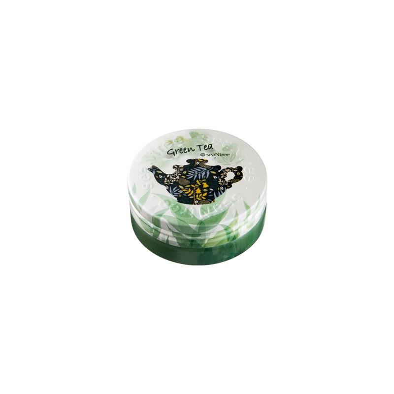 Увлажняющий крем seaNtree Green Tea Deep Deep Deep Cream EX 35 г (8809476697750)