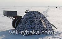 Палатка для зимней рыбалки 2*2, Дно отстегивается, товары для рыбалки