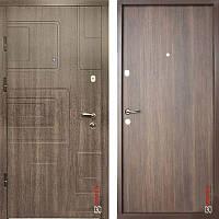 Дверь входная металлическая ZIMEN Dorian  l Дуб табака  l Optima