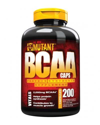 Mutant  BCAA - 200 кап., фото 1