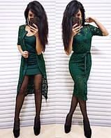 Модное женское вечернее платье