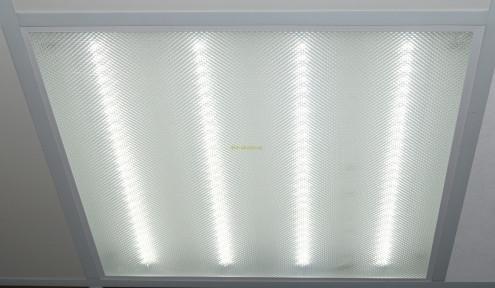 Светильник  LED-600х600 PRISMATIC , 36W 6500K 2300Lm Теплый свет 4100К