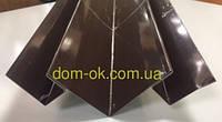 Планки комплектующие для металлического сайдинга тип 1 и тип 2 Угол внутренний