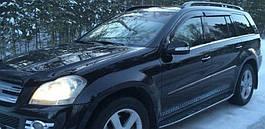 Ветровики, дефлекторы окон Mercedes Benz GL-klasse (X166) 2012 'Cobra tuning'