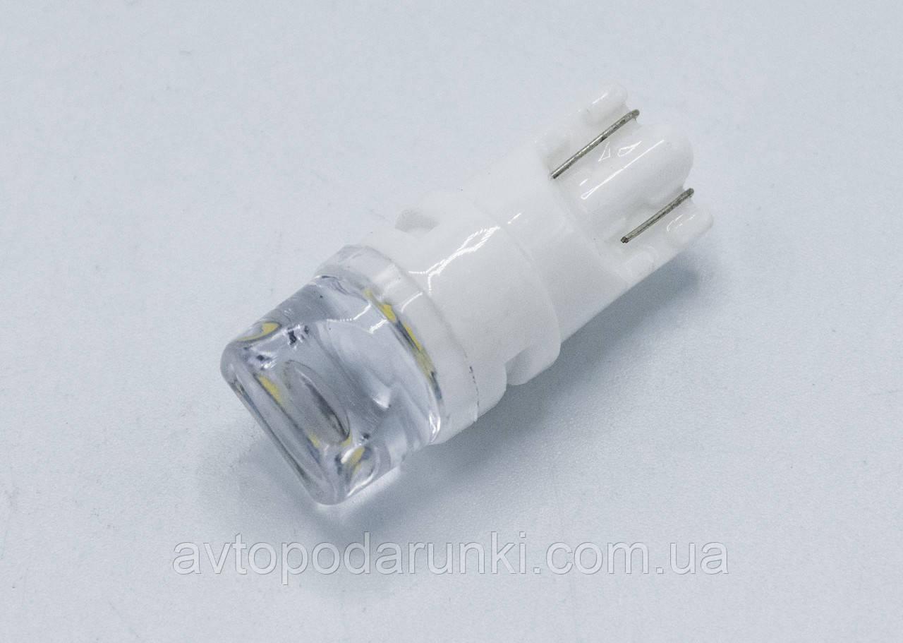 Габарит LED T10 #12 - TTCK - 3W65T (керамический корпус) / цвет Белый