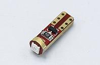 Габарит LED T5  - 301 - 2COB ( CAN BUS ) / Красный
