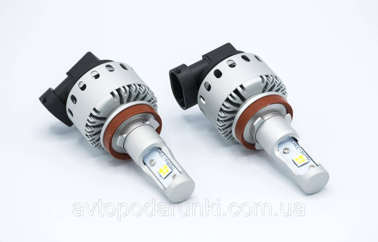7S-H11 LED лампы головного света/12-24v/8000Lm/6500K/1шт