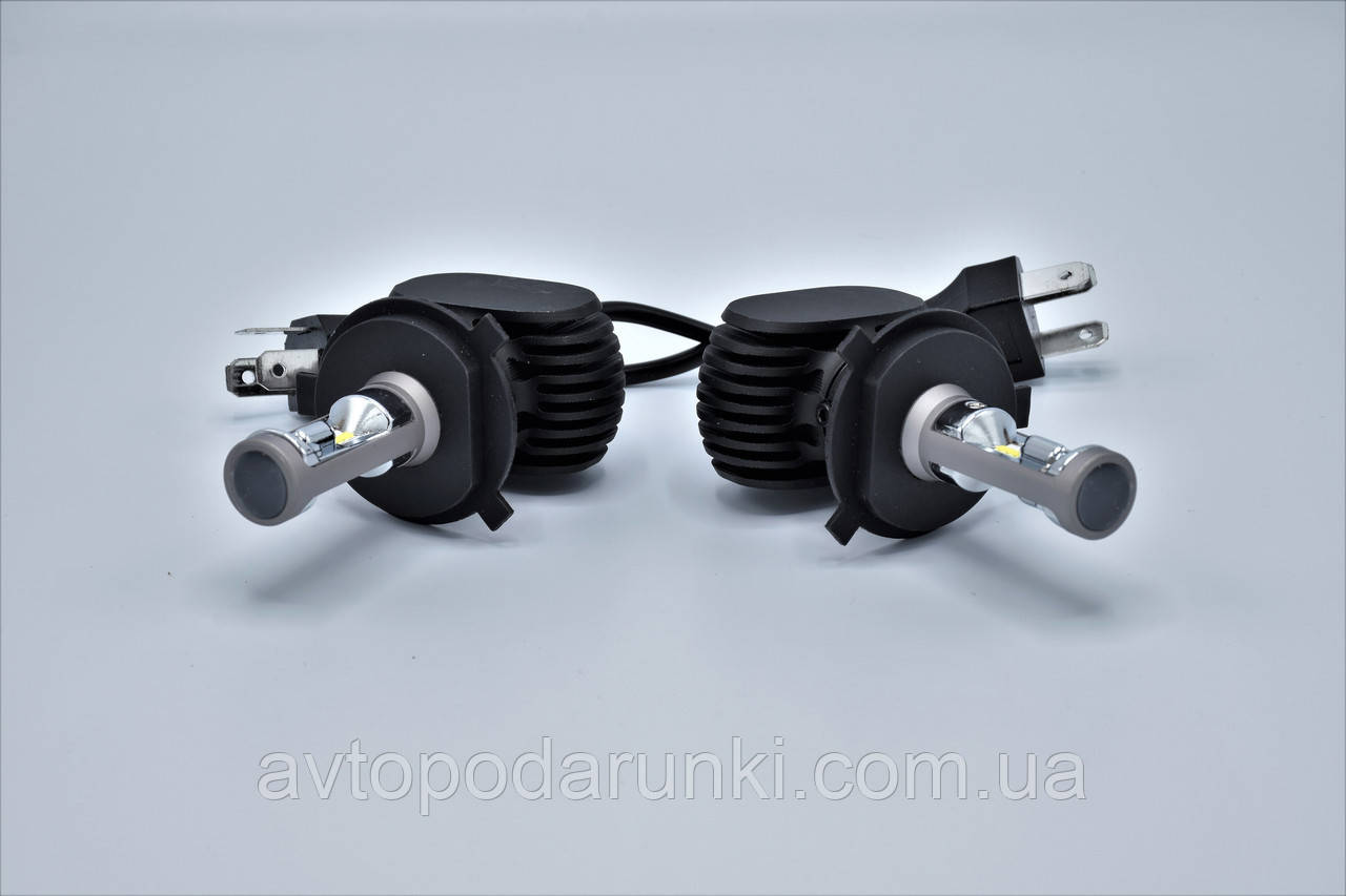 S1-H4 Hi-Low LED лампы головного света/9-32v/4000Lm/6500K/1шт