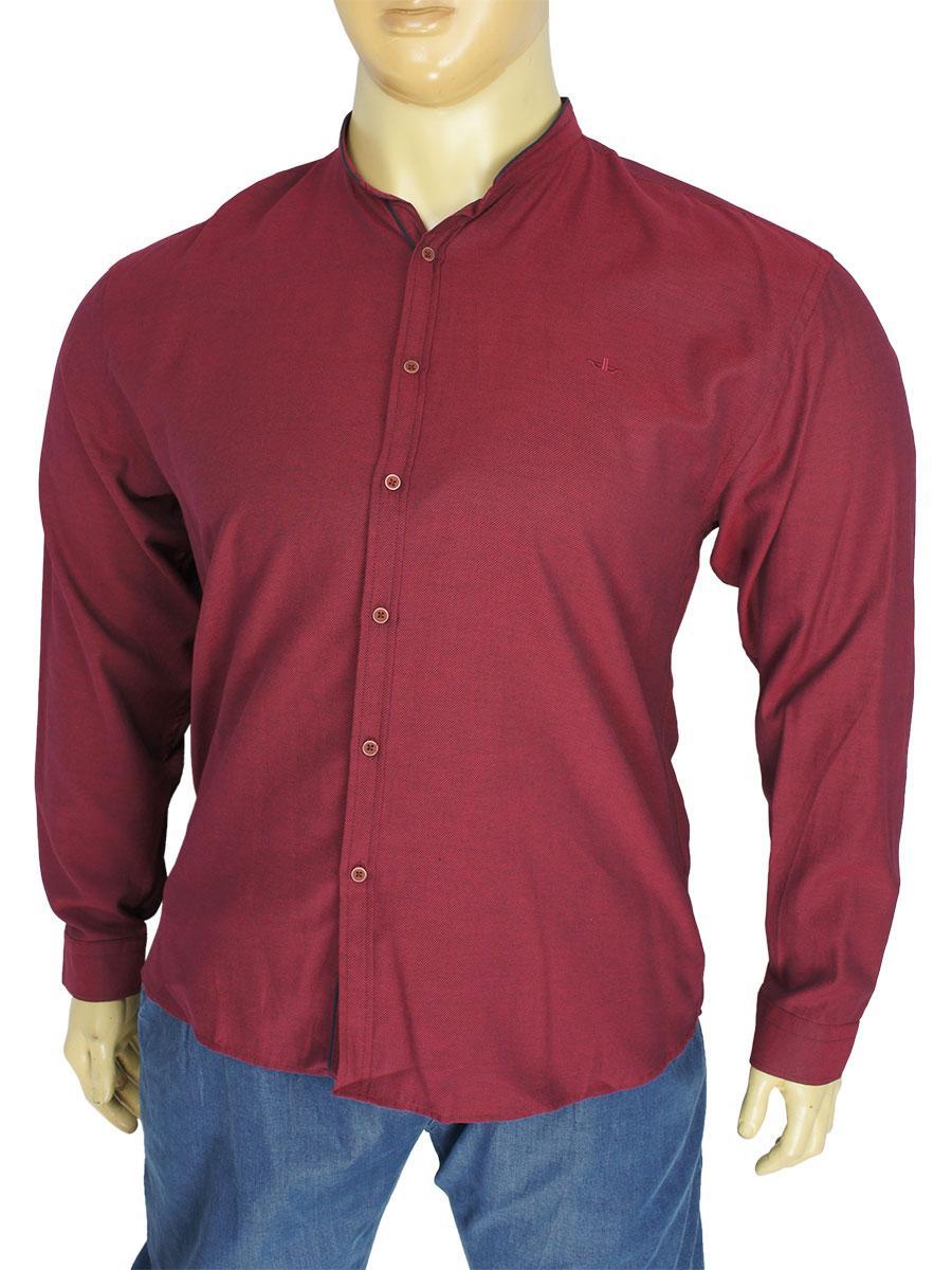 Чоловіча сорочка бавовняна Desibel 10.089 C-37 BT комір-стійка
