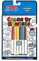 Цветная раскраска по номерам голубая Melissa & Doug (MD5378)