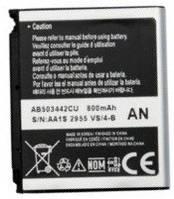 Аккумулятор для Samsung D900, D900i, E480, P520, U100 оригинальный, батарея AB503442CU