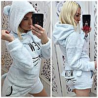 Женская махровая пижама Турция 6934, фото 1
