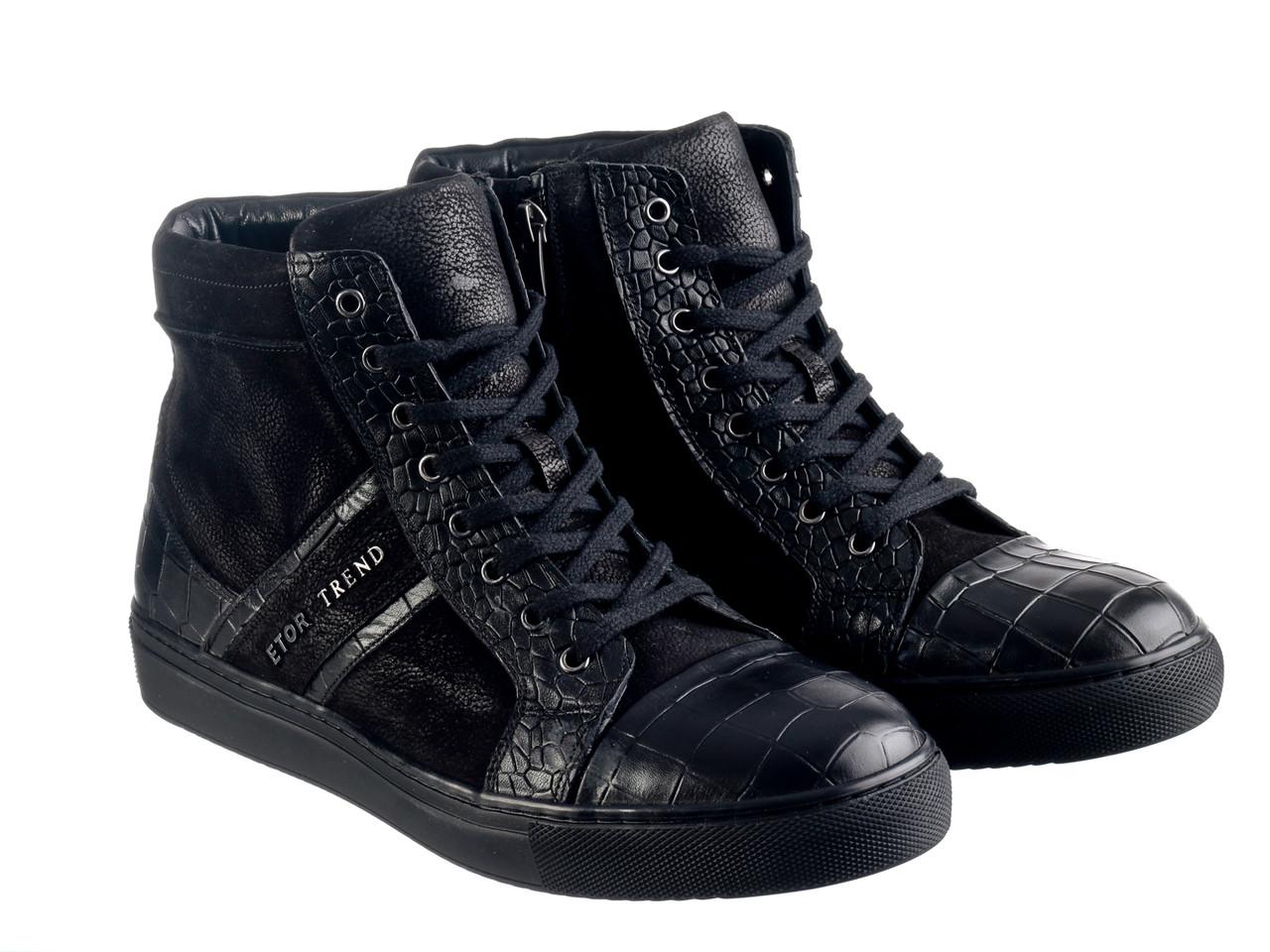 Ботинки Etor 8994-7162 черные, фото 1