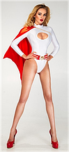 Женский ролевой костюм Супер Герл Эротический костюм