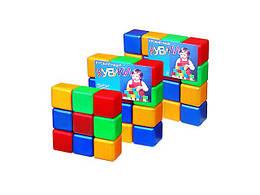 Кубики цветные, 16 кубиков, M-toys, 5063