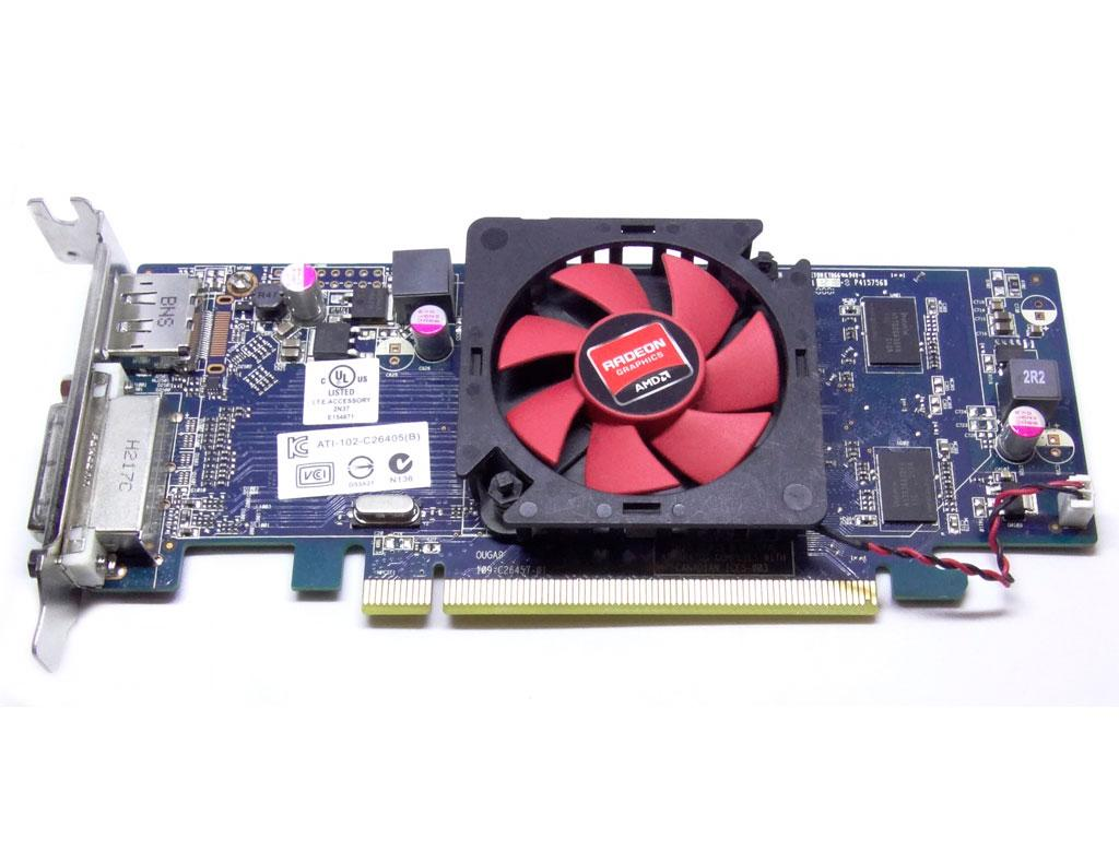 Відеокарта AMD Radeon HD 7470 1gb PCI-Ex DDR3 64bit (DVI + DP) низькопрофільна