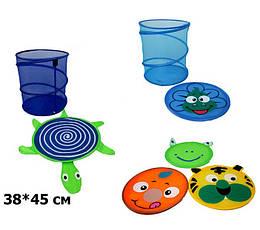 Корзина для игрушек 38*45см, 6 видов, BT-TB-0005