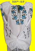 Вышитая блузка женская с цветами