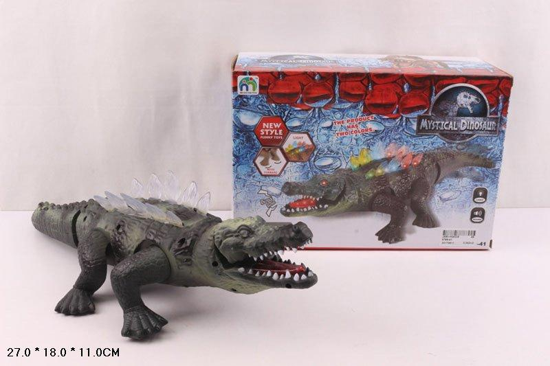 Игровая фигурка Крокодил звук, свет, 789-41