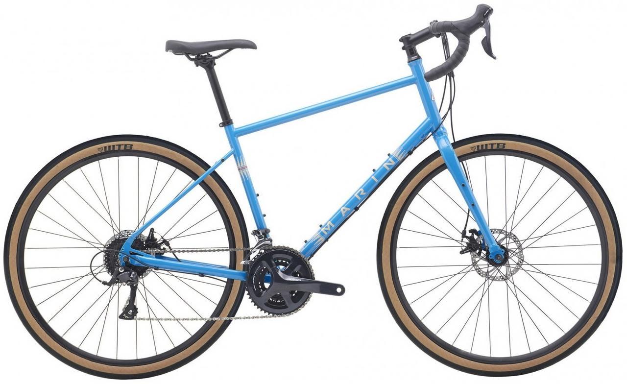 "Велосипед 28"" Marin FOUR CORNERS 2020 Gloss Blue/Dark Blue/Tan"