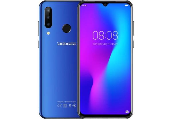 Смартфон Doogee N20 4/64Gb Blue MediaTek MT6763 4350 мАч