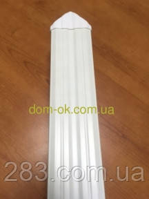 Штахет пластиковый цветной, размером  80х15мм цвет на выбор  * Наконечник