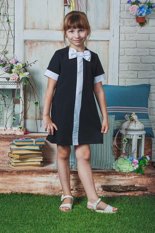Школьное платье, сарафан Бантик