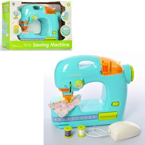 Швейная машинка XS-19055 24 см шьет педаль управления световые эффекты