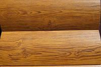 """Металлический Блок -Хаус """"Бревно тип 1 """" цвет - Золотой дуб 3-D 0,4 мм Корея"""