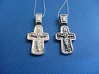 Cеребряный Нательный Крест на крестины