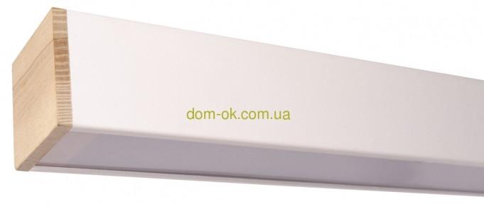 Линейный светодиодный светильник Lite c деревянными заглушками Lite 1200